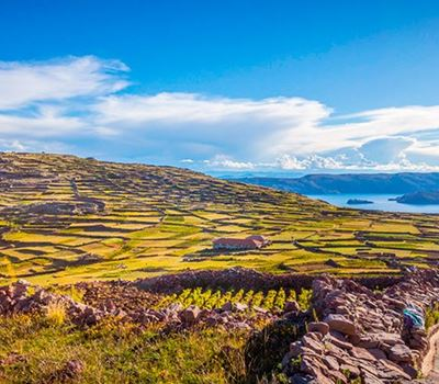 Titicaca Uros Floating Islands - Amantani Overnight Stay