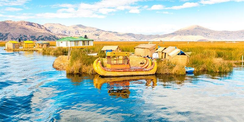 Titicaca Uros Floating Islands