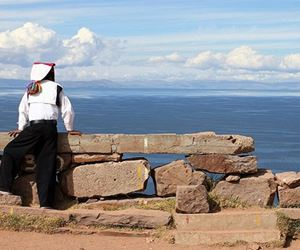 Titicaca Uros Islands - Amantani Overnight Stay