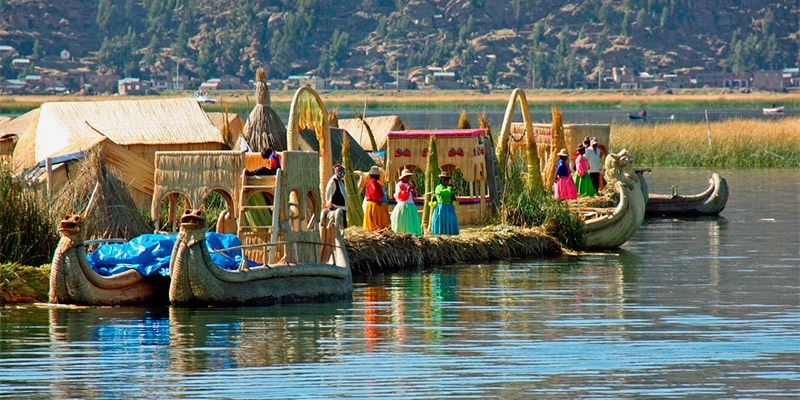 Uros floating Islands