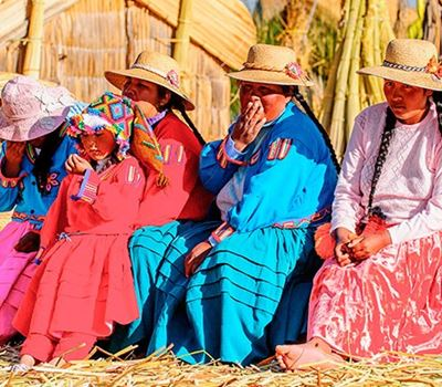Uros Floating Islands Tour - 9:00