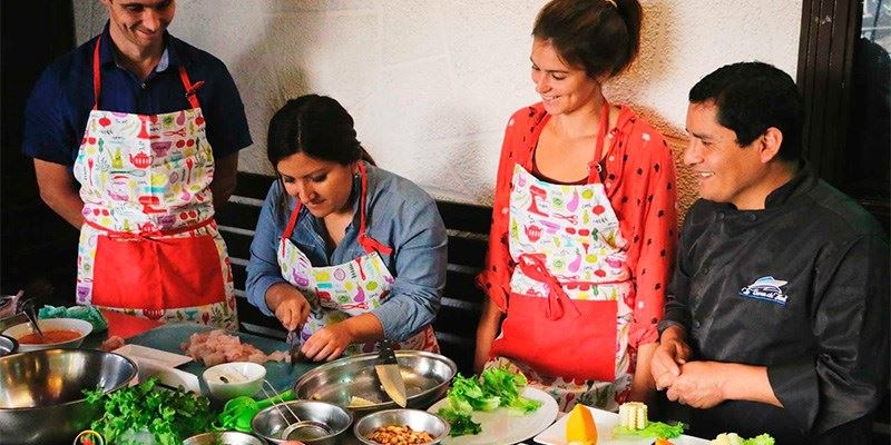 Seafood cooking classes lima