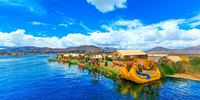 Floating islands titicaca