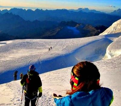 Climbing Huayna Potosi 3 Days/2 Nights