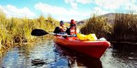 EXPLORING - KAYAKING UROS FLOATING ISLANDS