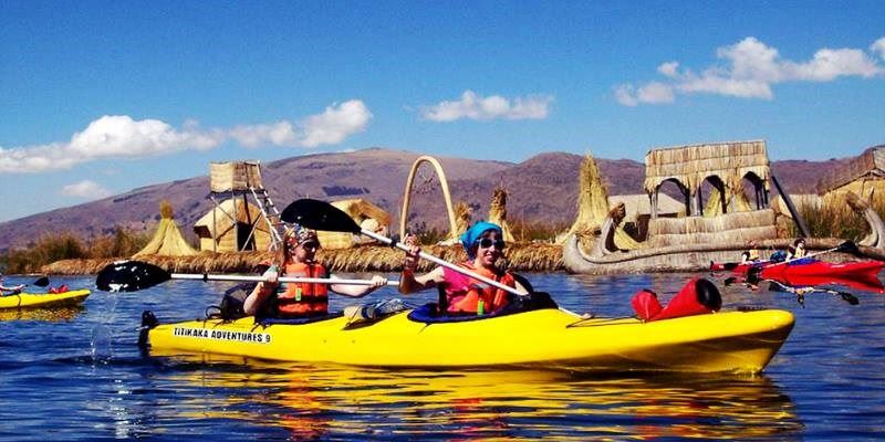 UROS KAYAKING AND TAQUILE ISLAND