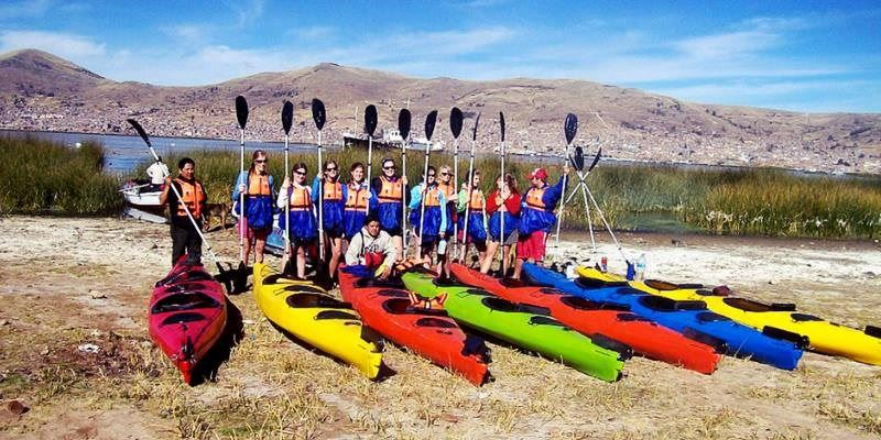 TOUR GROUP -  UROS KAYAKING AND TAQUILE ISLAND FULL DAY
