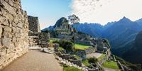 SITE VIEW -  TOURS BY BUS TO MACHU PICCHU