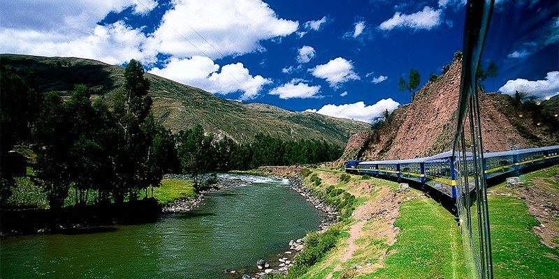 TRAIN VIEW - TOURS BY TRAIN TO MACHU PICCHU
