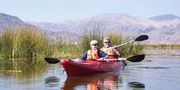 Kayaking Uros and Taquile Island full day