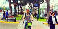 Bike tour around Miraflores