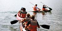 KAYAKING IN LAKE CALIMA
