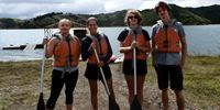 TOUR GROUP IN LAKE CALIMA