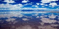 Uyuni, world's largest mirror