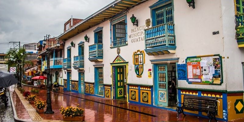 HISTORIC STREETS IN GUATAPE