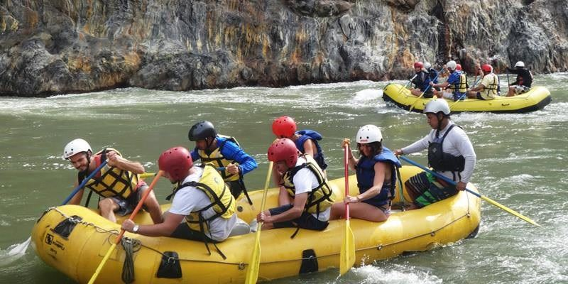 Rafting - Inca Jungle Trek