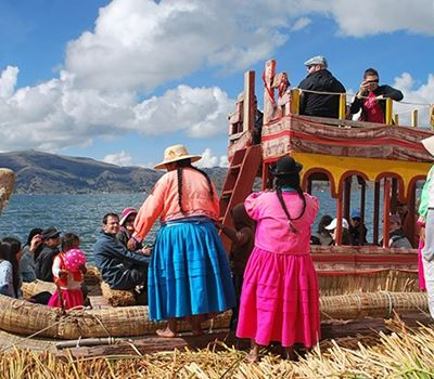 Uros Floating Islands Tour - Morning